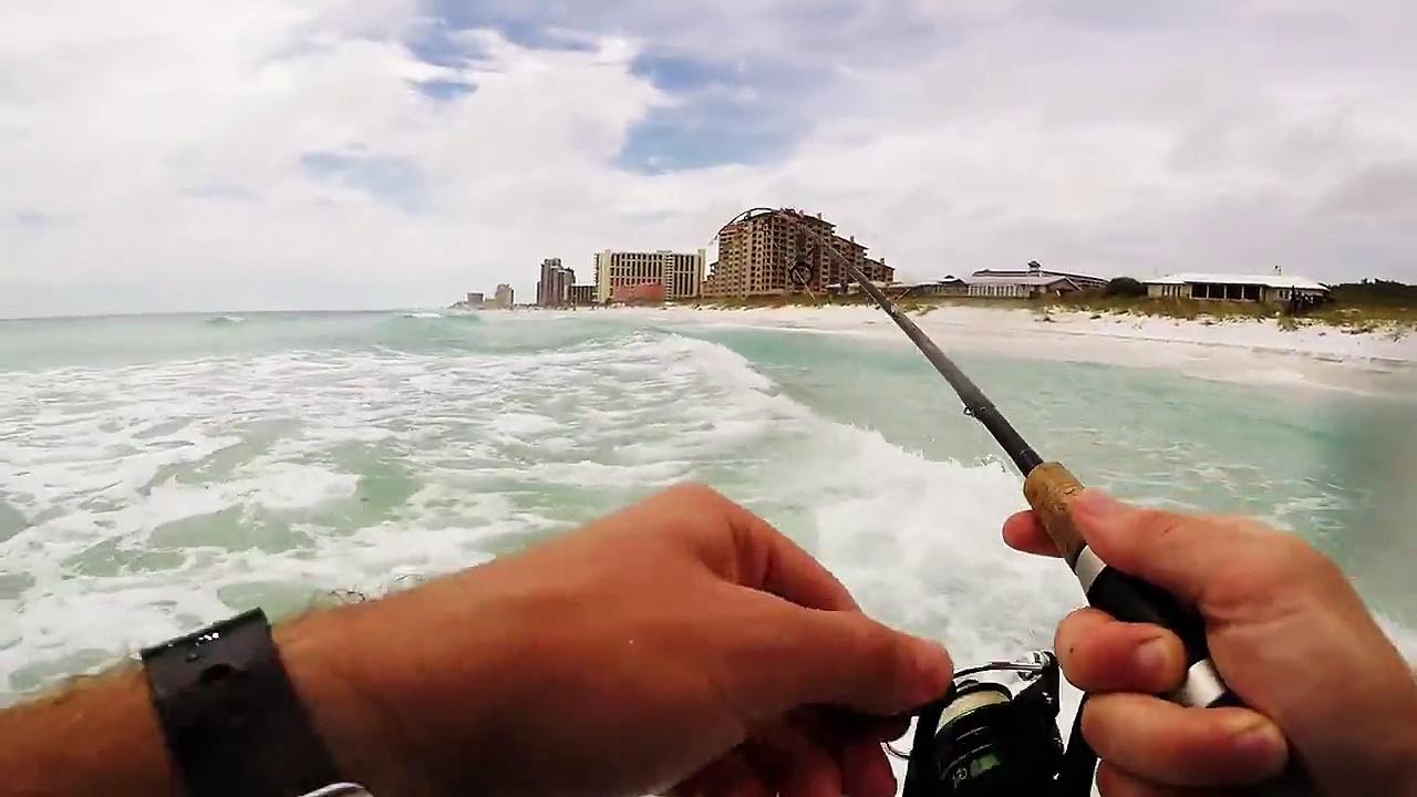 Ultra Light Surf Fishing – Pompano, Whiting