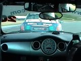 Scottish Mini Cooper Cup 2008 Knockhill Very Close Racing and Overtake