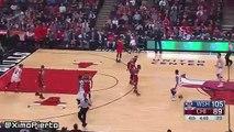 Ramon Sessions Misses Wide-Open Dunk  Wizards vs Bulls  January 11 2016  NBA 2015-16 Season
