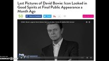 David Bowie's Last Public Appearance Before His Death Hoax