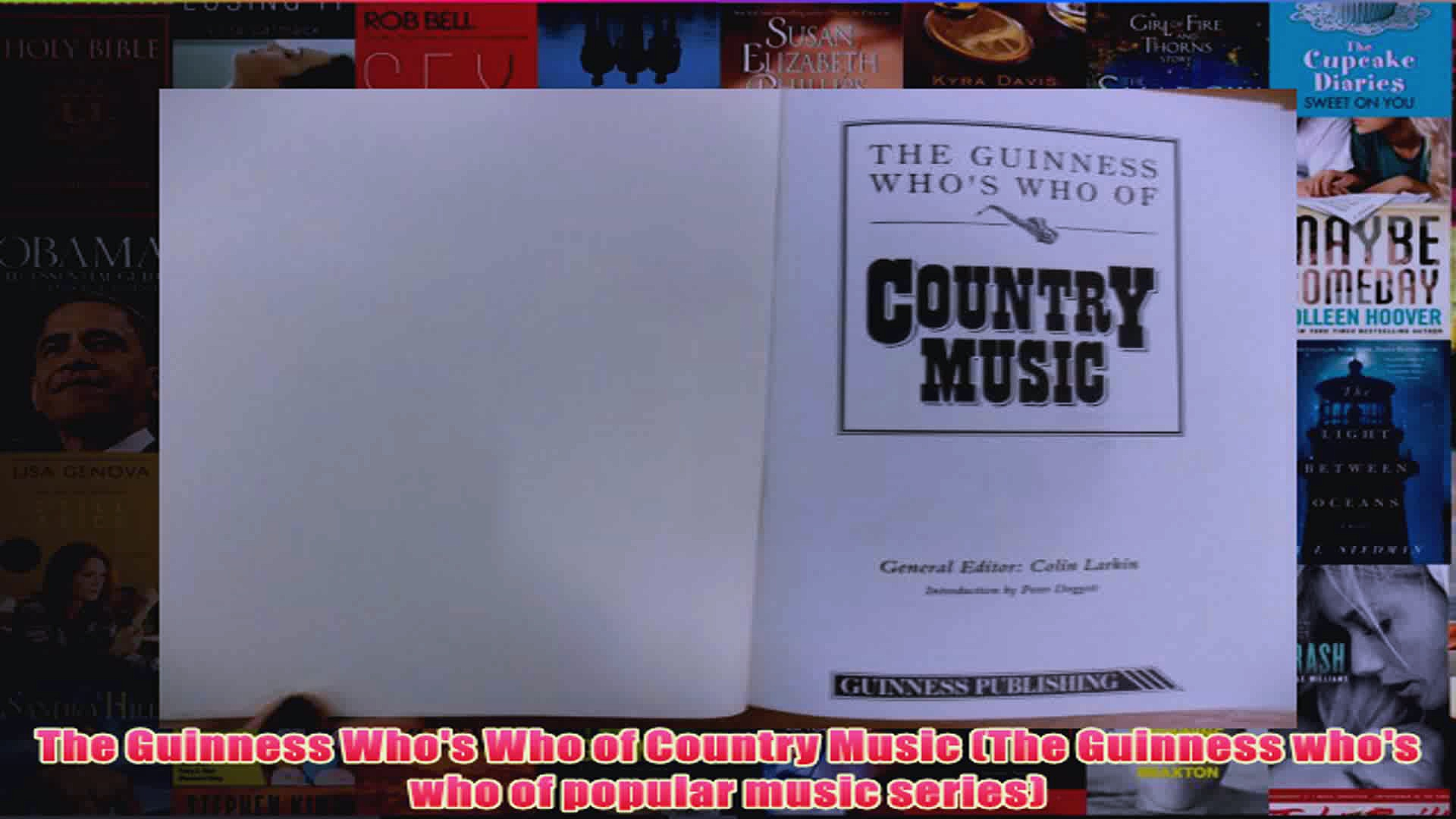 The Guinness Whos Who of Country Music The Guinness whos who of popular music series