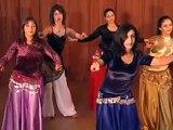 Cours de danse orientale intermédiaire (4/7) - Déplacements
