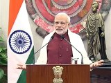 PM Narendra Modi addresses the National Youth Festival