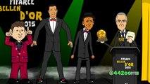 If CRISTIANO RONALDO had won The Ballon dOr 2015! (Awards Highlights Part 2)