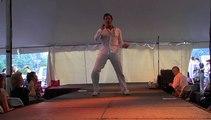 Casper Slee sings 'Jailhouse Rock' Elvis Week 2008