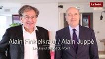 Le Grand Débat du Point : quand Alain Finkielkraut rencontre Alain Juppé