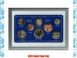 2011 Vintage GB Great Britain British Coin Birth Year Retro Gift Set (5th Birthday Present