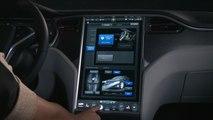 Pantalla táctil del Tesla Model S