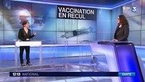 Santé : la vaccination des nourrissons baisse depuis deux ans
