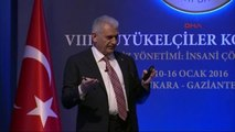 Ulaştırma Bakanı Binali Yıldırım 8. Büyükelçiler Konferansı'nda Konuştu-7