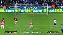 0-1 Wayne Rooney Goal | Newcastle United vs. Manchester United 12.01.2016 HD