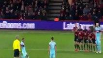 Le sublime coup-franc de Dimitri Payet face à Bournemouth