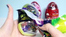 Le GÉANT de SURPRISE ŒUFS Hello Kitty Œufs des Tortues Ninja Voitures 2 Huevos Sorpresa Disney Toy Vidéos