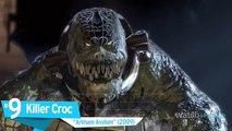 Top 10 Batman Arkham Series Boss Battles (World Music 720p)