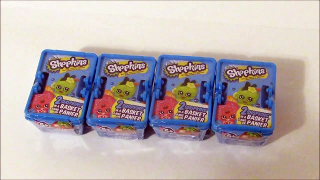 SHOPKINS - BLIND BAG - MYSTERY SHOPPING BASKETS - MOOSE TOYS