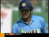 Virender Sehwag 21 Runs in just 2 balls. Sehwag good hitting against Rana Naveed in Pakistan series. Rare cricket video