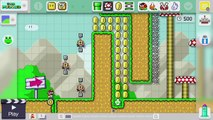 "Super Mario Maker - Viewer Levels - Name: ""Not Kaizo"" - ID: BD14-0000-0187-A223"
