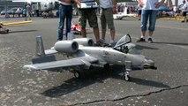 A 10 THUNDERBOLT WARTHOG RC SCALE 1:8,5 MODEL TURBINE JET FLIGHT DEMO / RC Airshow Gatow 2