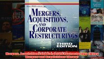 Mergers Acquisitions and Corporate Restructurings Wiley Mergers and Acquisitions Library