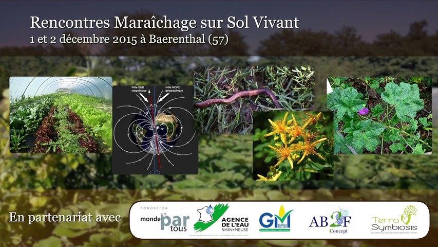 MSV 2015 - Concepts agronomiques - Bénédicte Maret