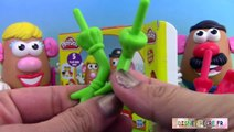 Pâte à modeler Play Doh Mr Potato Head Mr Patate Coiffeur Jouets ♥ Play-doh Toy Story
