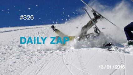 DAILY ZAP #326 : Group of skiers attacked by yeti !