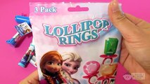 DISNEY FROZEN Candy Surprises and Egg Surprises with Queen Elsa Princess Anna Olaf – 3S