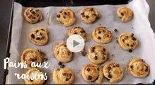 Recette de pains aux raisins maison, parfaits pour le goûter - Gourmand