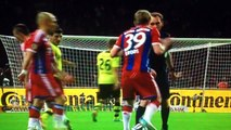 Pep Guardiola Gives Franck Ribéry a _Massage_ Bayern Munich Vs Dortmund 17 5 2014