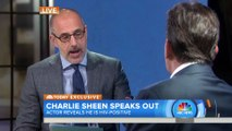 """Charlie Sheen """"prostitutes extorted me for millions"""" on Today Show about HIV"""