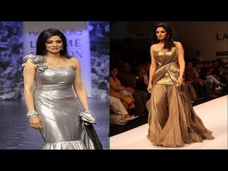 SHRI DEVI HOT LAKME FASHION SHOW 2008