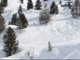 Descente pistes de ski de La Rosière 1850 Ski San Bernardo cet hiver ? Savoie