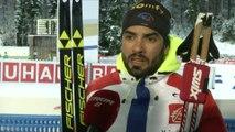 Biathlon - CM - Ruhpolding : S. Fourcade «Une course très moyenne»