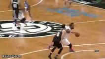 Kristaps Porzingis Misses the Dunk  Knicks vs Nets  January 13 2016  NBA 2015-16 Season