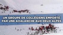 Les Deux Alpes: Une avalanche emporte un groupe de collégiens