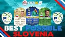 FIFA 16 | BEST POSSIBLE SLOVENIA/SLOVENIAN SQUAD BUILDER | FT. IF HANDANOVIC , KEVIN KAMPL, & MORE!