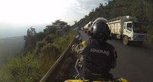 La vie de motard au Kenya est très dangereuse