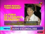 El primer audio de Ana Caputo contra Fede Bal
