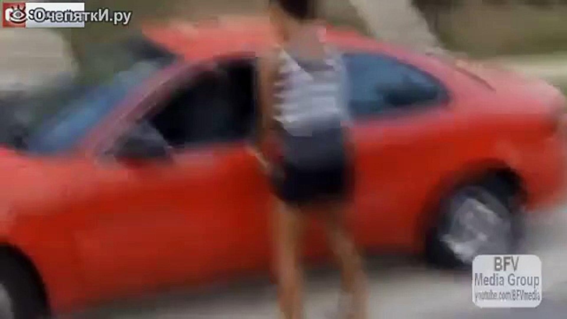 Приколы с девушками в ванной|Приколы с девушками на машине - [Выпуск 20]