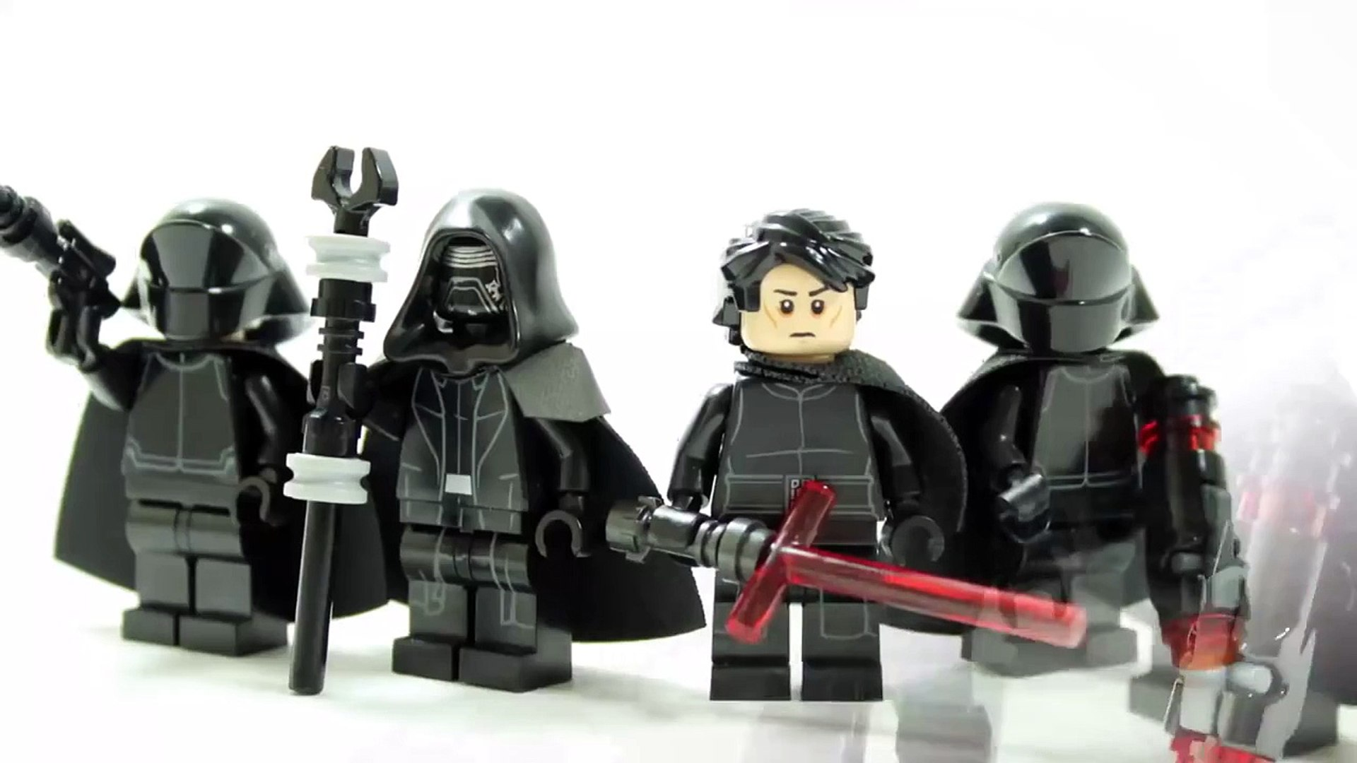 LEGO STAR WARS THE FORCE AWAKENS KNIGHTS OF REN MINIFIGURES