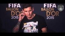 Press Talk FIFA Ballon dOr 2015 - Messi|Ronaldo|Neymar