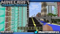 Minecraft PS3 Community Creations New York City (Minecraft PS3 & Gameplay)