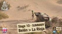 Stage 10 Summary - Car/Bike - (Belen / La Rioja)