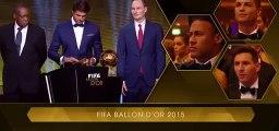 Lionel Messi Winner FIFA BALLON DOR 2015
