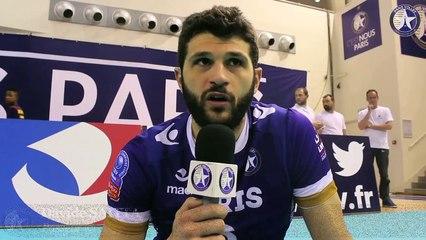 """Paris Volley-Poitiers: """"Un match sérieux"""""""