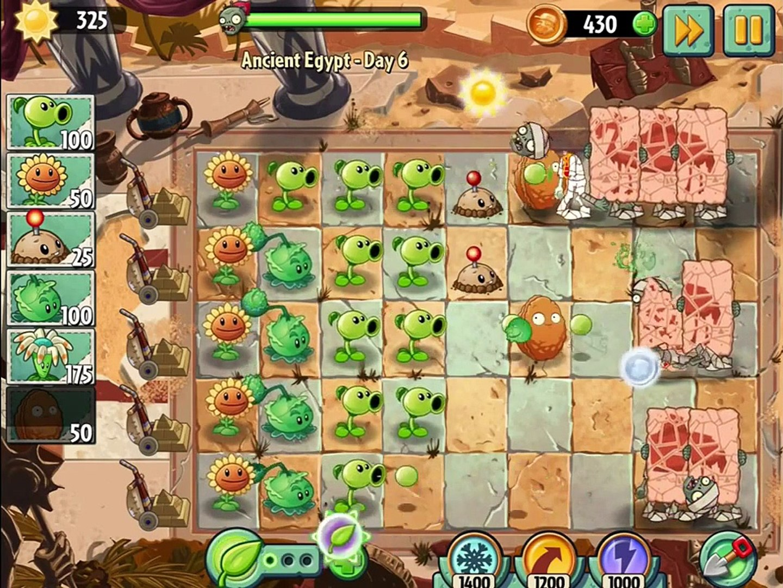 овощи против зомби 2 игра египед часть 2 # 2