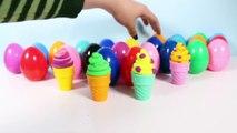 Play Doh Glaces De Peppa Pig Mickey Mouse Disney Surprise Œufs Surprise Glaces Jouet Vidéos