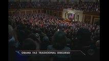 Barack Obama faz último discurso no Congresso