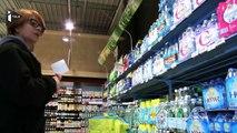 Dans les foyers, l'eau minérale remplace peu à peu les sodas