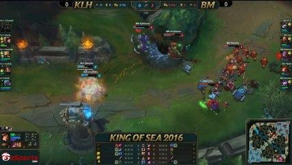 King of SEA 2016 - Day 2 - KLH vs BM